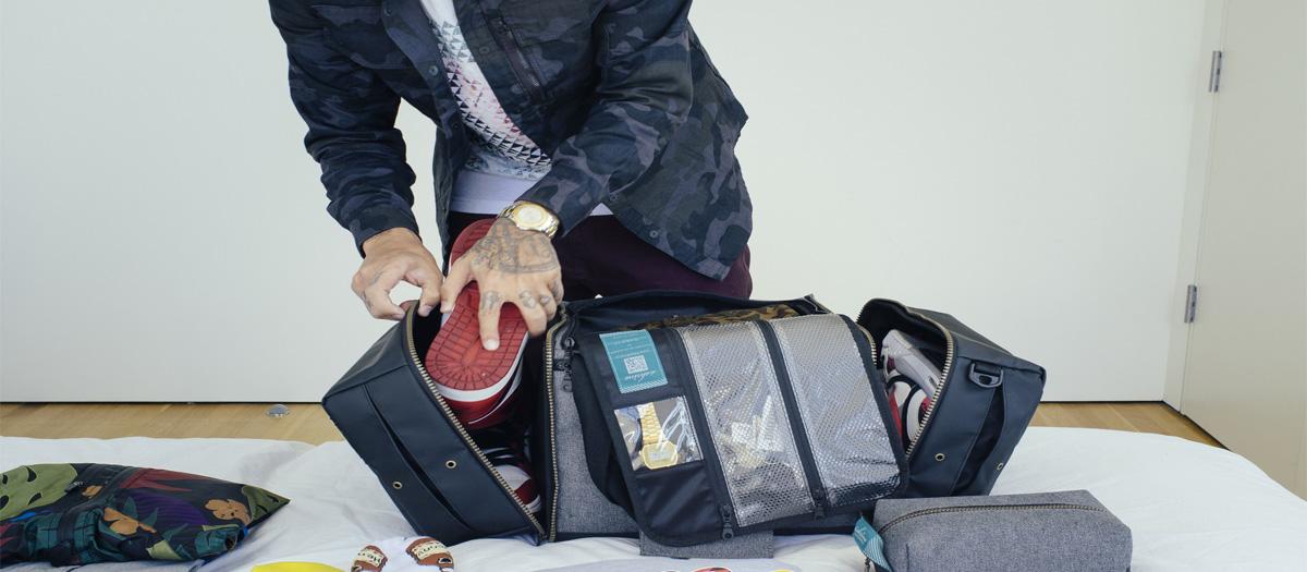 test sac de voyage