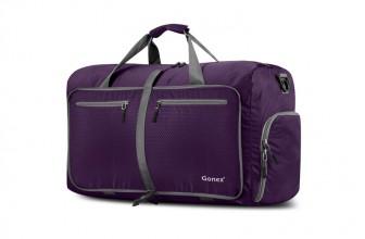 Gonex 80 L : sac de voyage pliable pour camping et randonnée